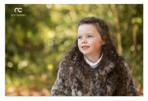 outdoor autumn portrait sessions - children