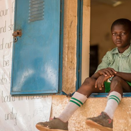 Uploaded a portrait of a schoolboy and the #Nigeria national Anthem. #Abuja