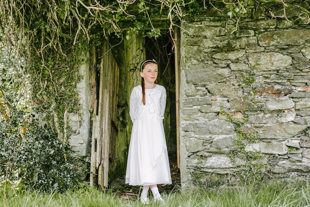 Perfect outdoors portraiture in Kenmare, County Kerry.